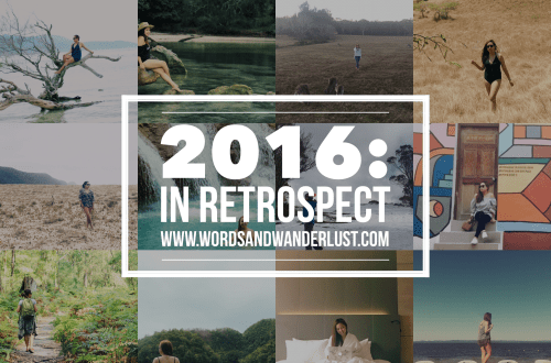 2016 in retrospect | Words and Wanderlust