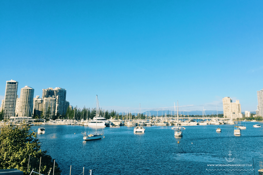 Gold Coast Marina - Words and Wanderlust