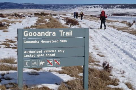 Gooandra Fire Trail.