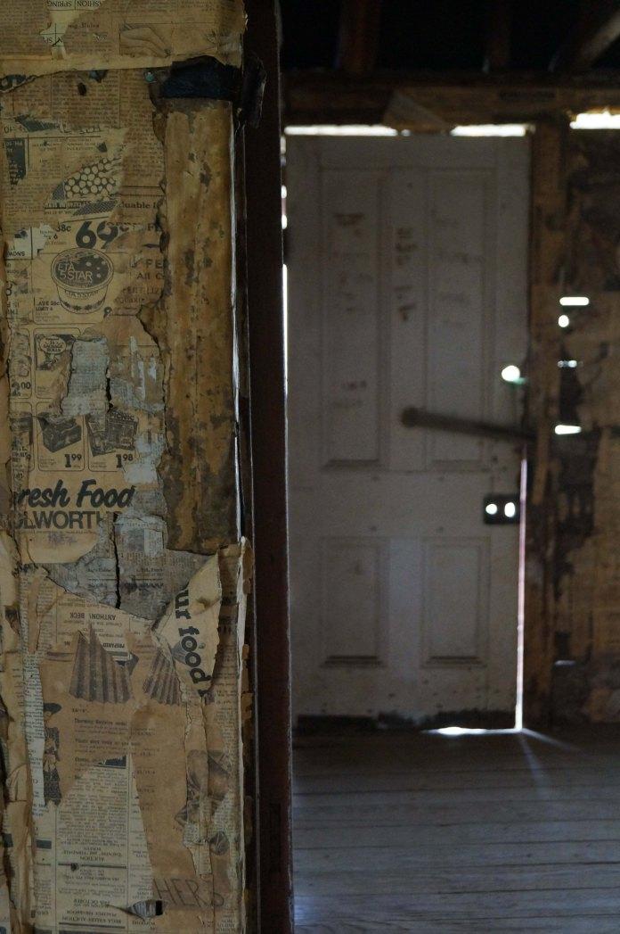 Coolamine Homestead, door