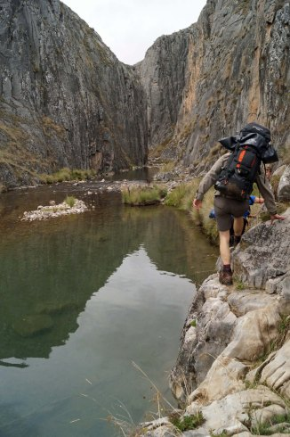 Cave Creek gorge