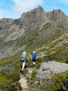 Ossa ascent, below Dorris, summer