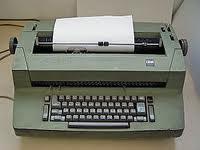 Electric typewrite