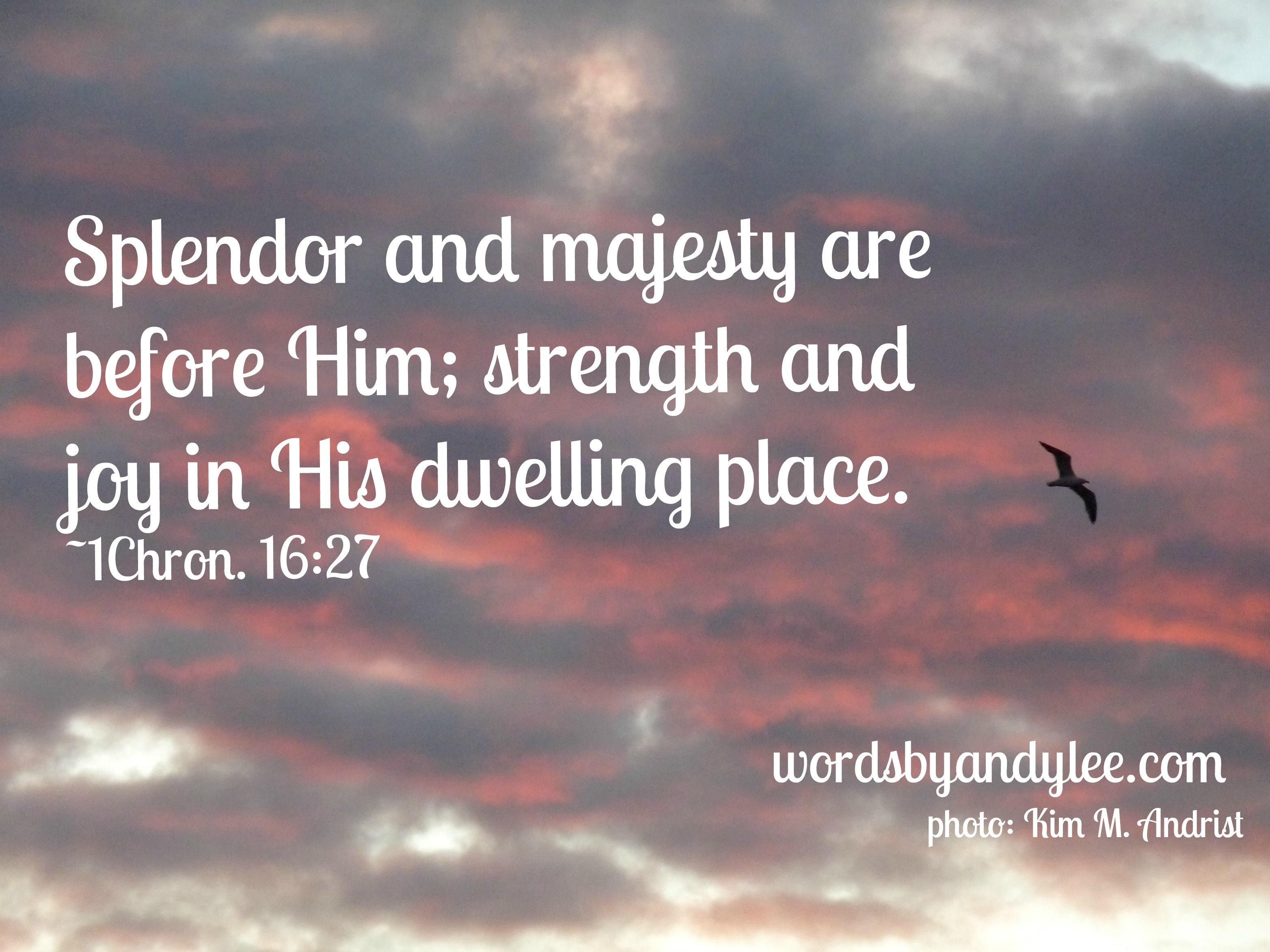 Where to find strength