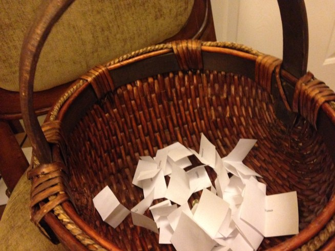 Contest drawing basket July 2014