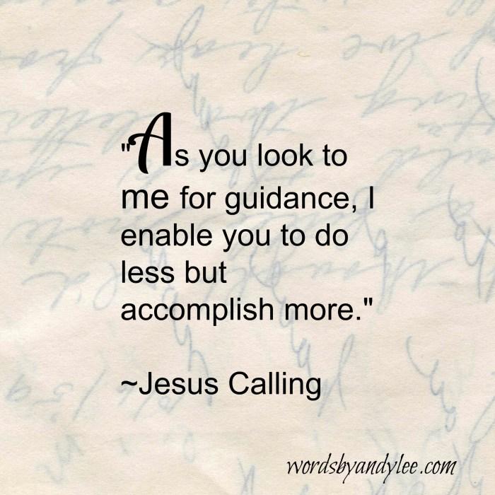 Do less accomplish more