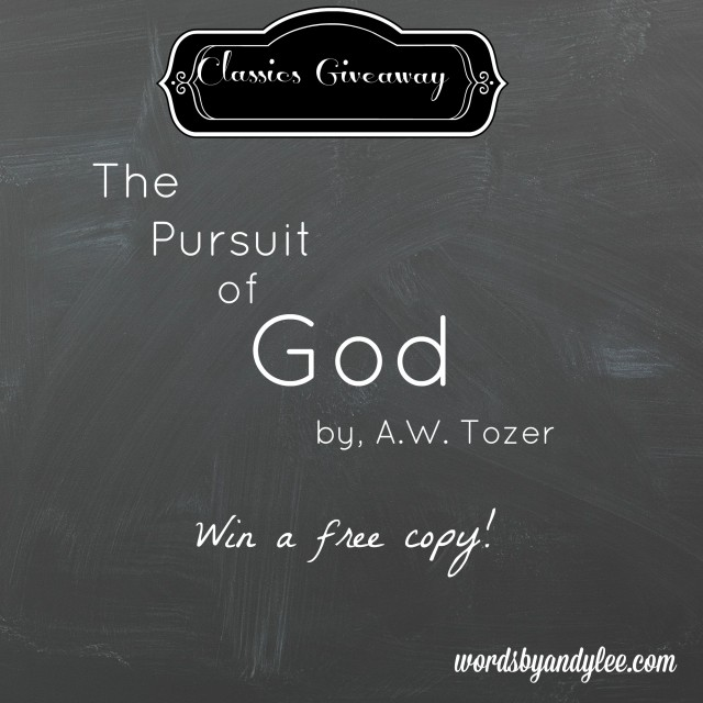 The Pursuit Giveaway