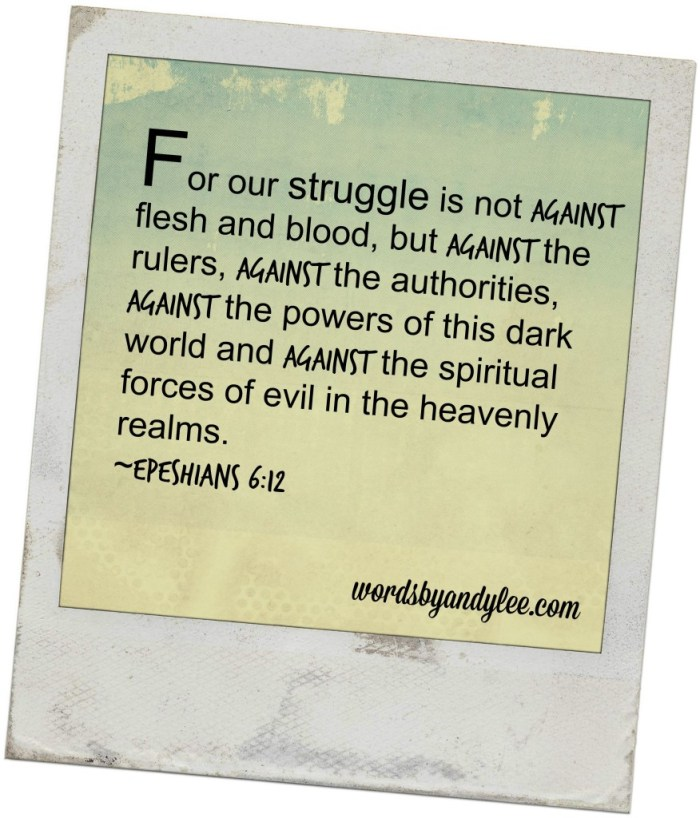 For our struggle