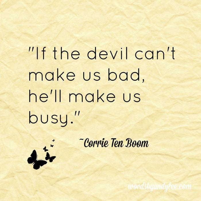 If the devil~CTB