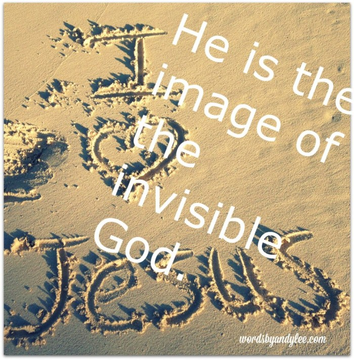 He is the image