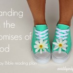 Standing on the Promises of God #BiteofBread
