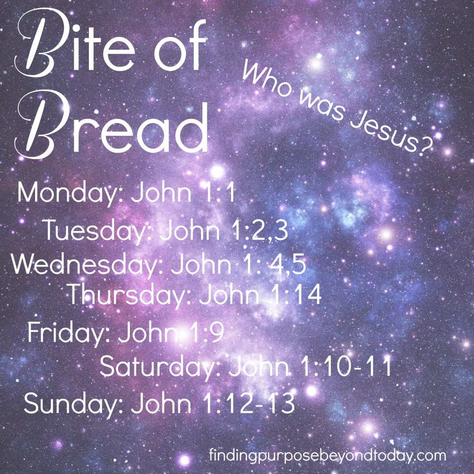 Bite of Bread: Who was Jesus? (Preparing for Christmas)