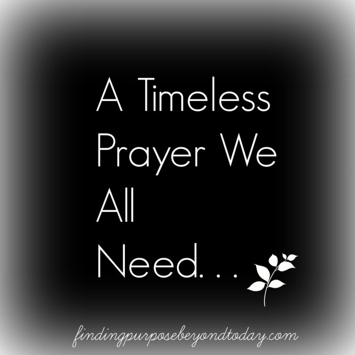 A Timeless Prayer