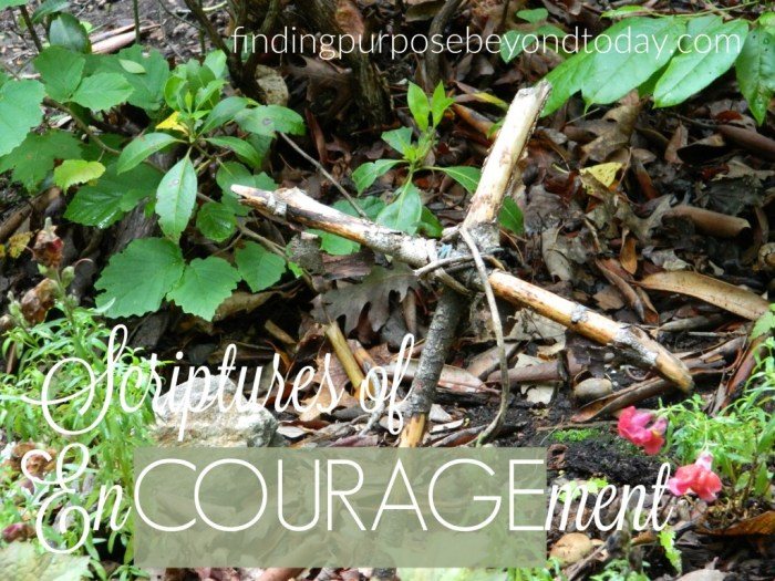 Scriptures of encouragement 2