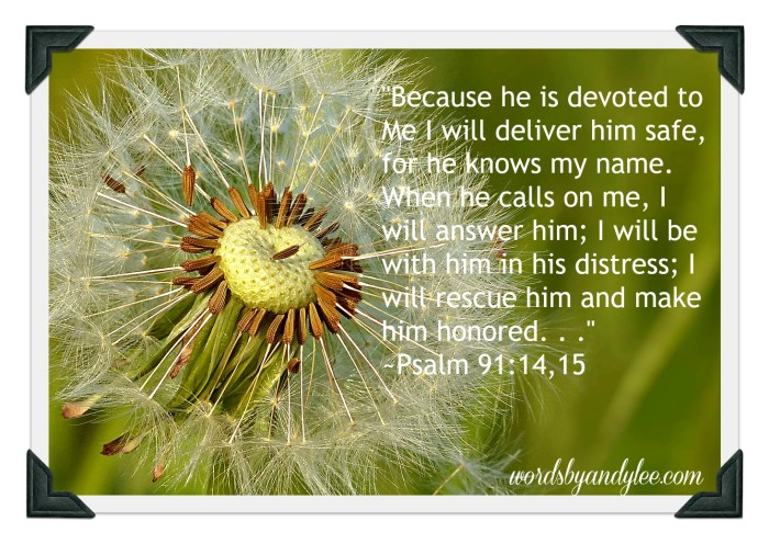 Psalm 91_14-`5
