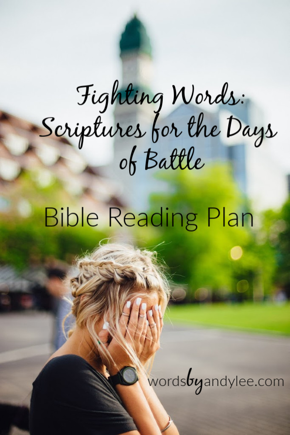 Fighting Words for the Spiritual Battle