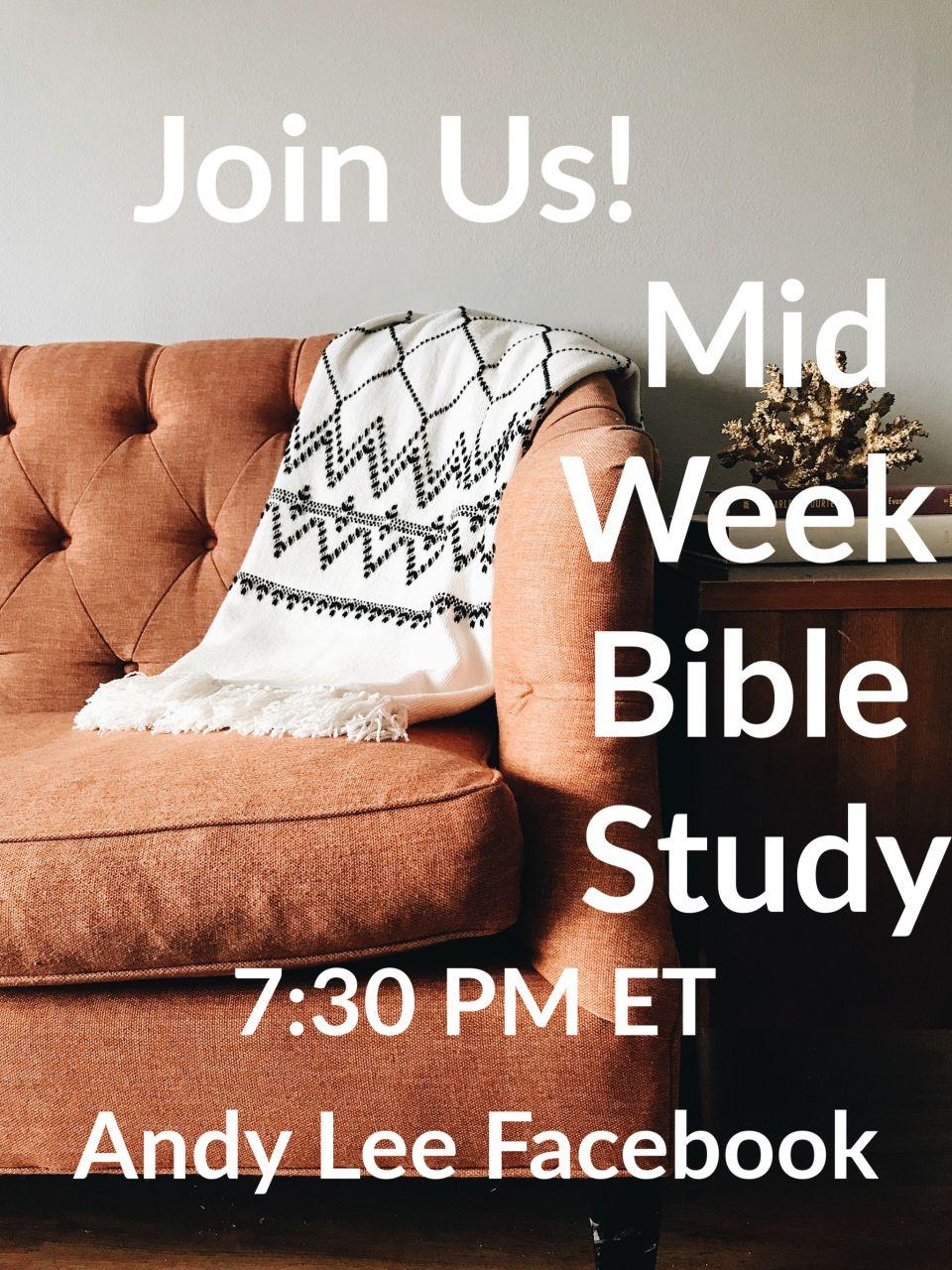 Facebook Bible study