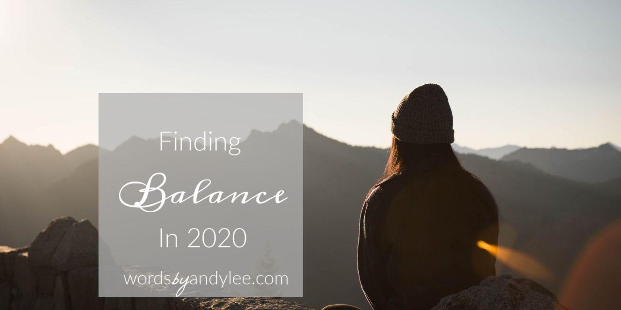 balance busy