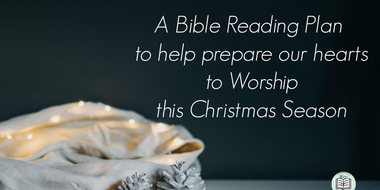 bible reading plan christmas