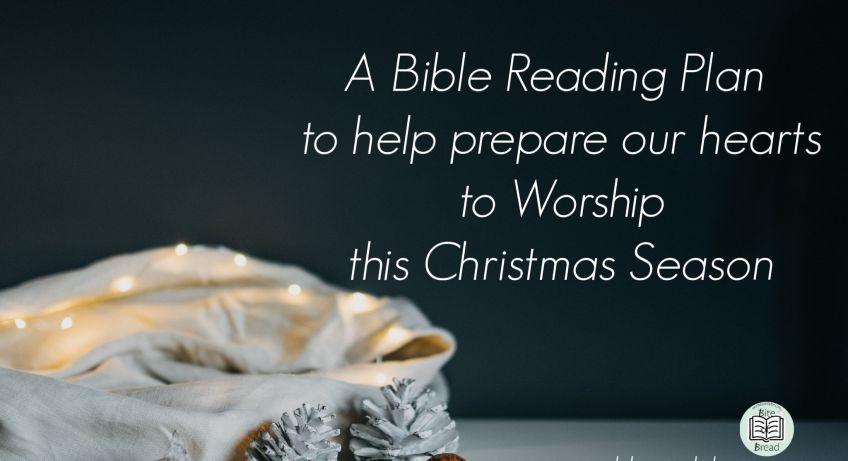bible reading plan christmas