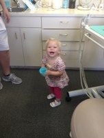 Nora loves the Dentist