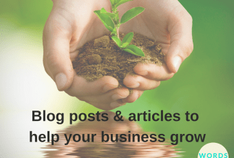 Original articles and blog posts can help your business grow