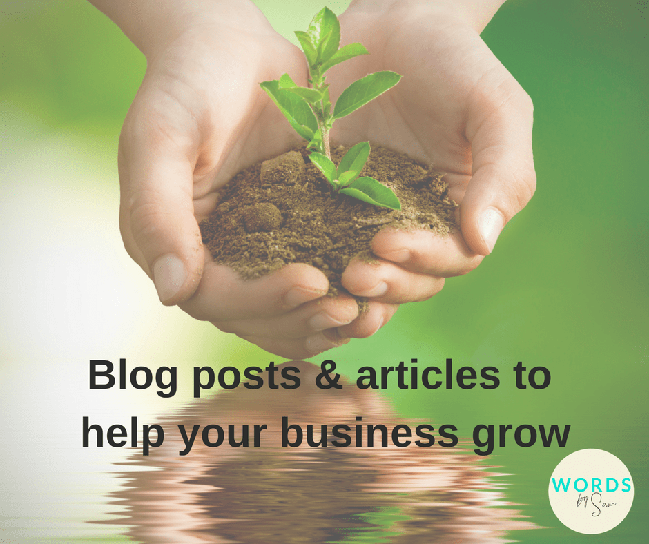 custom articles and blog posts can help your business grow