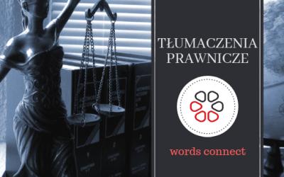 Tłumaczenia prawnicze
