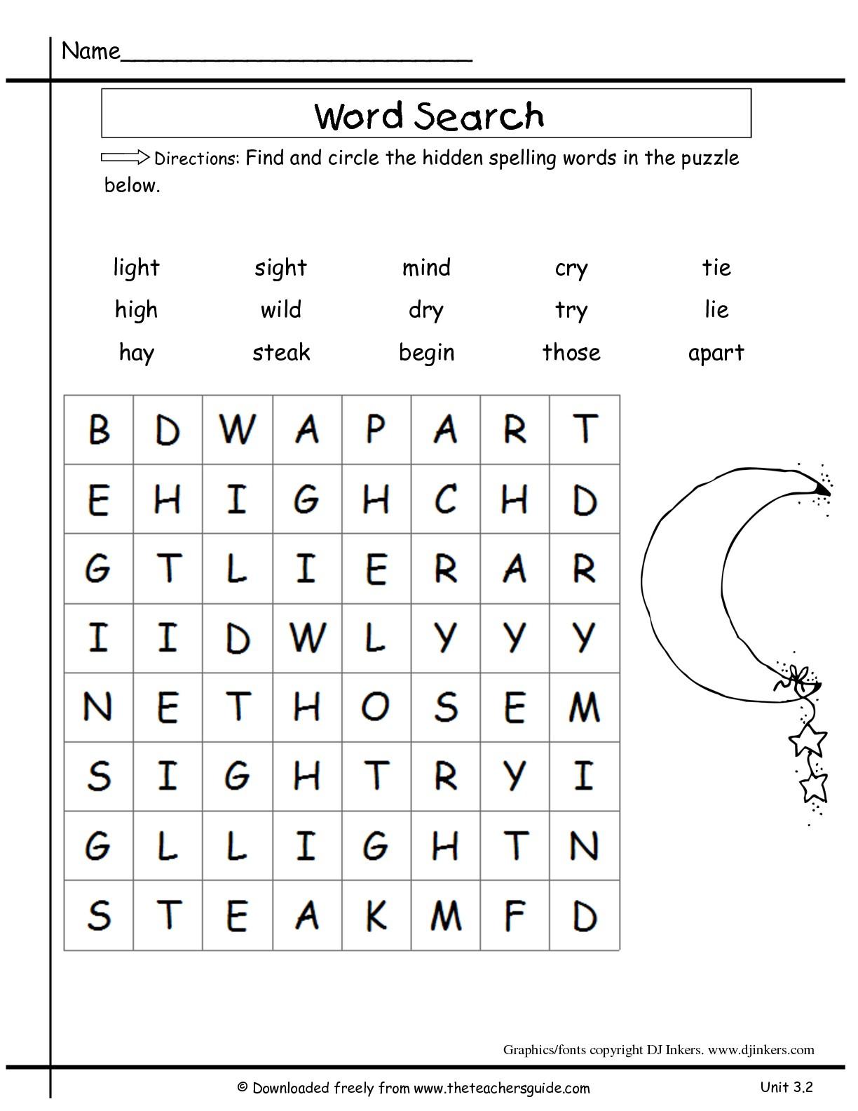 Verb Worksheet For 2nd Graders