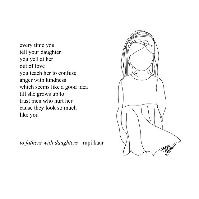 to fathers with daughters
