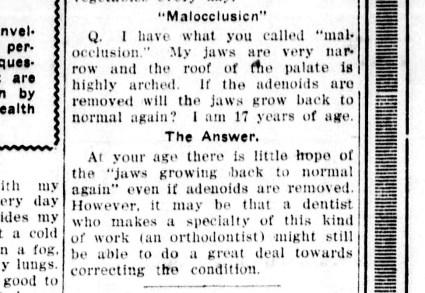 Ask Doctor Uncle Sam - December 20, 1920