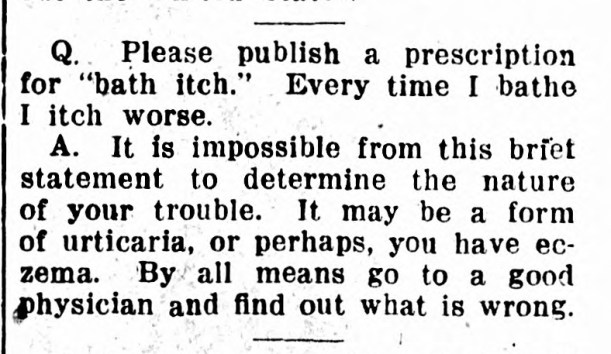 Ask Doctor Uncle Sam - May 06, 1920