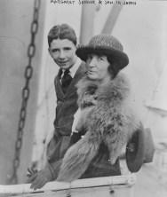 Margaret Sanger and Son in Japan