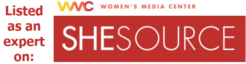 Listed as an expert on Women's Media Center SheSource