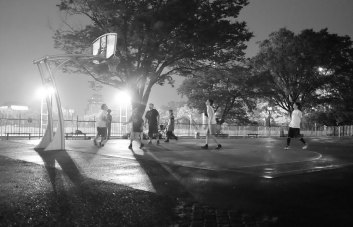 Tokyo kids playing basketball. By Roel F. Concepcion