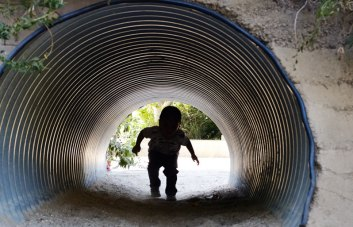 Tunnel Monster Child