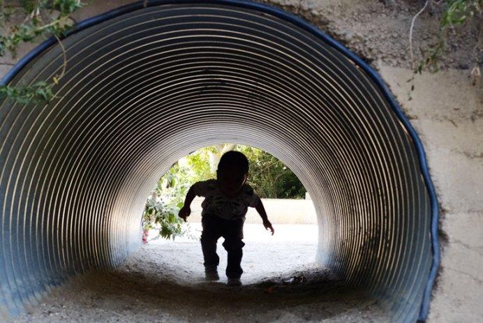 Tunnel Monster Child