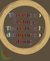 No Testing