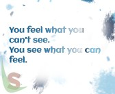 Feel what you see