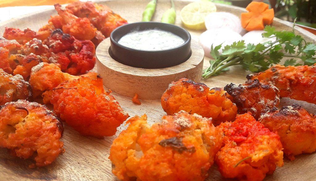 Tandoori Gobi or Grilled Cauliflower