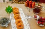 Masala Vadas with White Peas