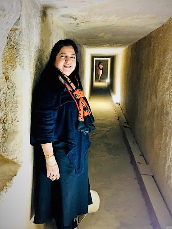 Passage inside Khafre's Pyramid