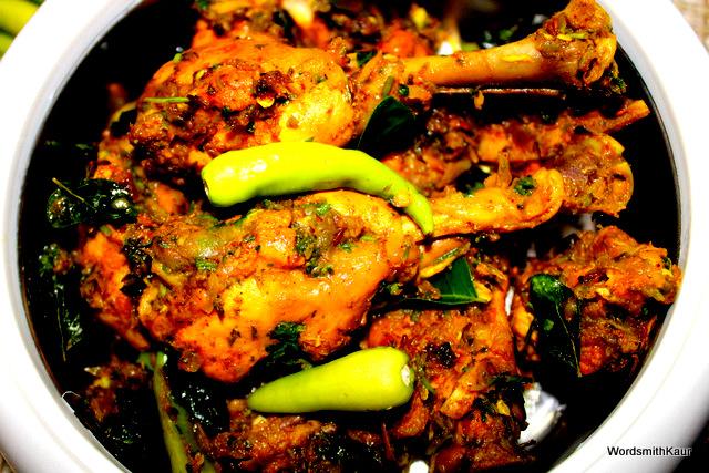Spicy Andhra Chilli Chicken Recipe