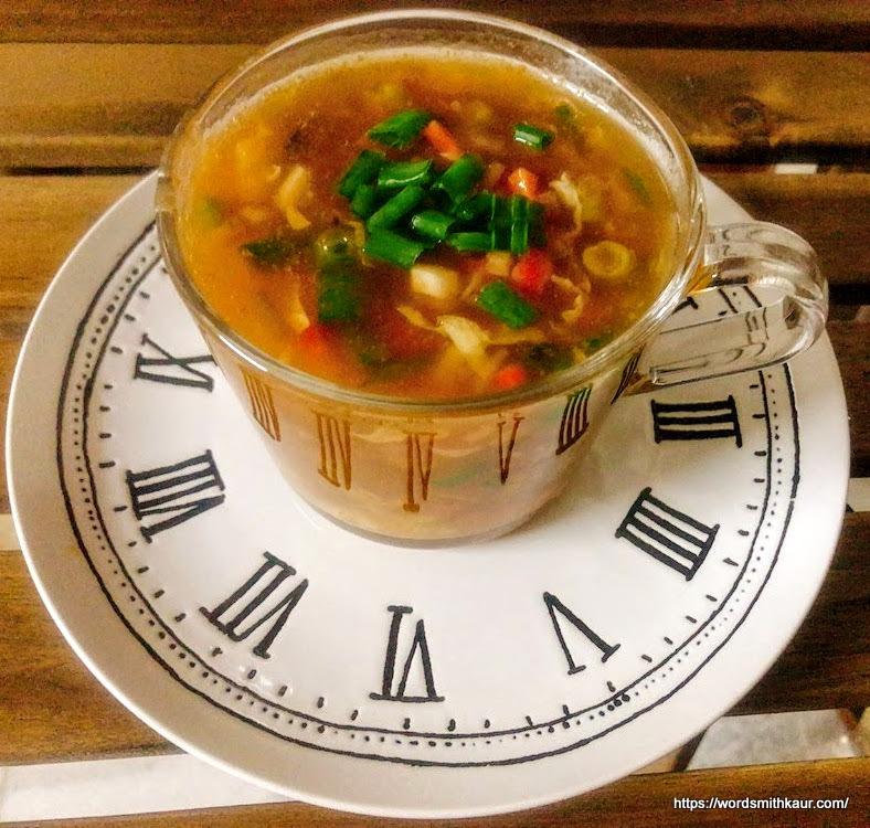 easy hot & sour soup recipe