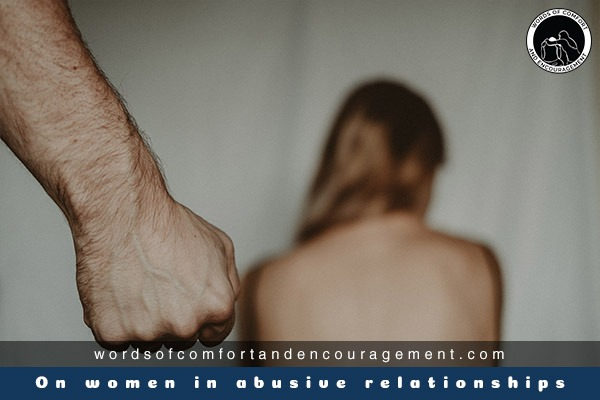 On women in abusive relationships