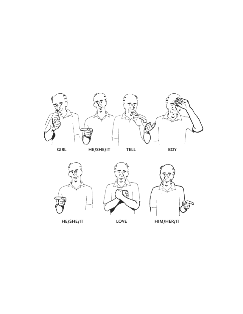 Learning Sign Language Naturally