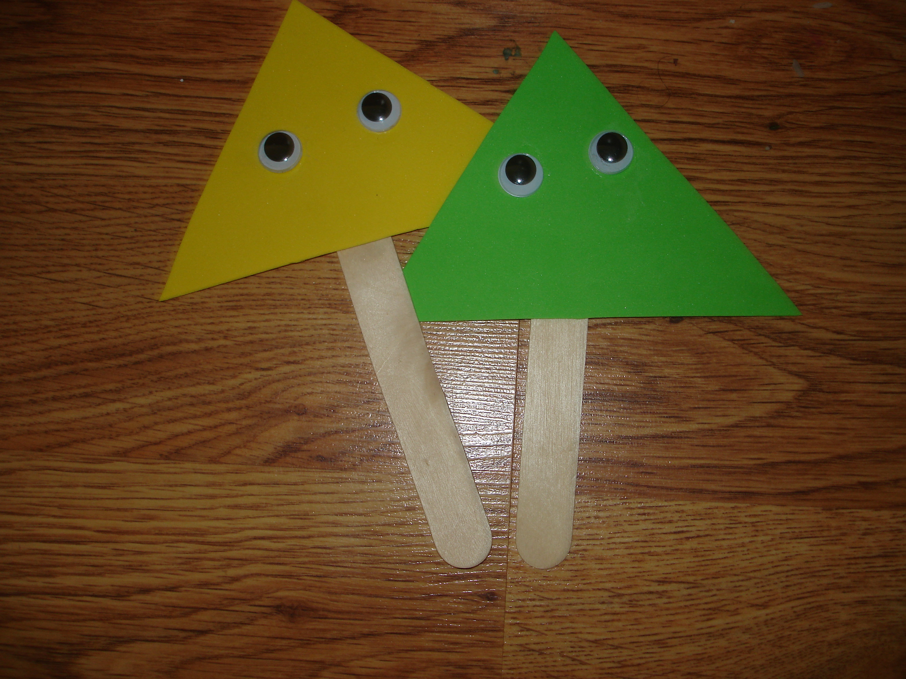 Timmy Triangle Shaping Up Kindergarten