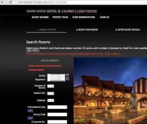 hotel booking engine