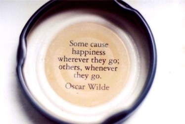 Oscar wilde quotes sayings happiness quote cute Collection Of Inspiring Quotes Sayings Images WordsOnImages