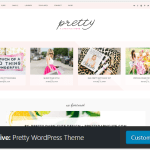 The Best Blog Theme: Pretty Darn Cute Design